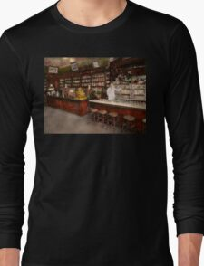Apothecary - Cocke drugs apothecary 1895 Long Sleeve T-Shirt