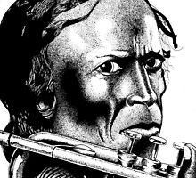 Miles Davis by David Ayala
