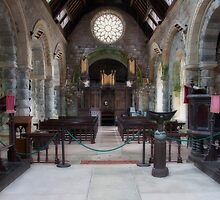 St Conans Interior by Linda  Morrison