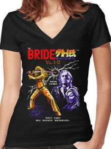 The Bride Gaiden Women's Fitted V-Neck T-Shirt