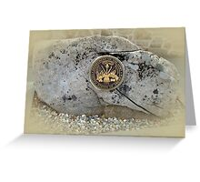 Honoring the US Military Services - Army Greeting Card