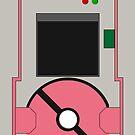 Pokedex 5th Generation iPhone Case - Pink by Tomer Abadi