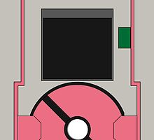 Pokedex 5th Generation iPhone Case - Pink by Tomer Abadi