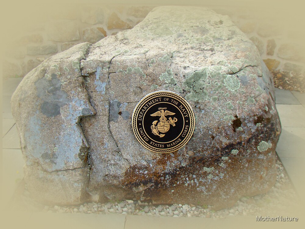 Honoring the US Military Services - Marine Corps by MotherNature