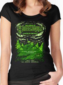 The Legend of Bubblegum Women's Fitted Scoop T-Shirt