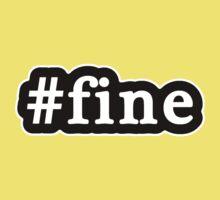 Fine - Hashtag - Black & White Kids Clothes