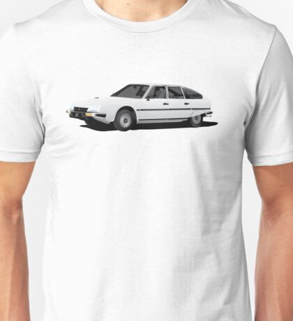 CItroën CX Pallas white illustration Unisex T-Shirt