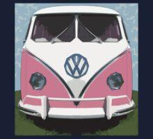 VW Kombi Van, The LOVE BUGger Kids Clothes