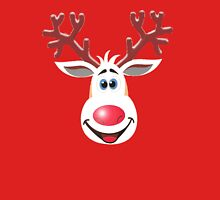 Happy Rudolph - The Red Nosed Reindeer Mens V-Neck T-Shirt