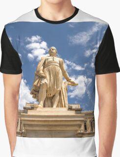 Landmark Statue Graphic T-Shirt