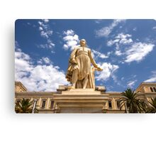 Landmark Statue Canvas Print