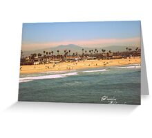 Cali Orange county Greeting Card