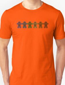 Rainbow Gingerbreads  Unisex T-Shirt