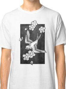 Sparrow Through Blossoms Classic T-Shirt