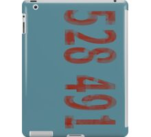 Inception - 528491 Red iPad Case/Skin