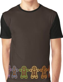 Rainbow Gingerbreads  Graphic T-Shirt