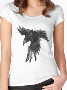 Ink In Flight Women's Fitted Scoop T-Shirt