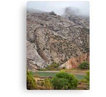 Rain at Split Mountain Canvas Print