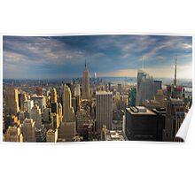 Midtown Manhattan Sunset Poster