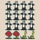Badger Badger Mushroom Snake by David Ayala