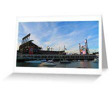 AT&T Park SF Greeting Card