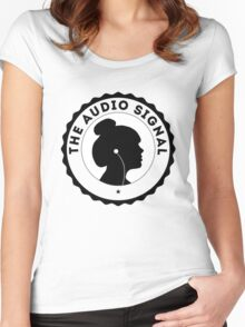 The Audio Signal Women's Fitted Scoop T-Shirt