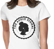The Audio Signal Womens Fitted T-Shirt