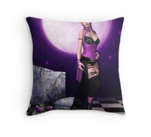 Punky Reverie Throw Pillow