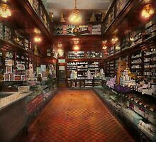 Drugstore - G.W. Armstrong drug store 1913 by Mike  Savad