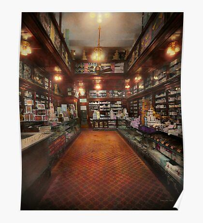 Drugstore - G.W. Armstrong drug store 1913 Poster