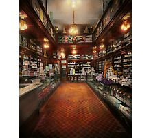 Drugstore - G.W. Armstrong drug store 1913 Photographic Print