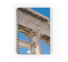 Ruins, Acropolis, Athens, Greece Spiral Notebook