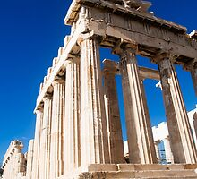 Ruins, Acropolis, Athens, Greece by PhotoStock-Isra