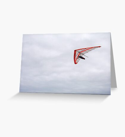 Hang Gliders 14 - 14 10  12 Greeting Card
