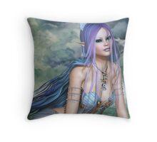 The Sea Nymph Throw Pillow