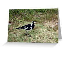 Beach Bird Three - 14 10 12 Greeting Card