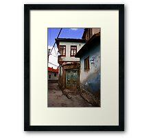 Old Doorway Framed Print