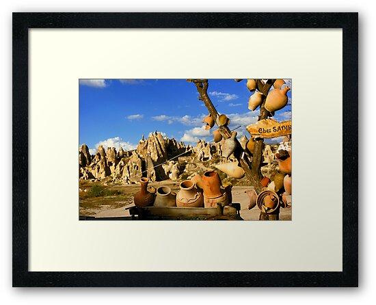 Cappadocia Jars by Netsrotj