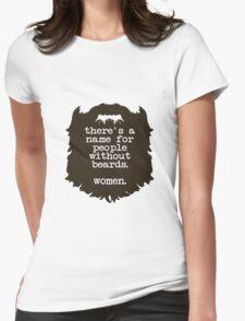 Beard Insult Womens Fitted T-Shirt