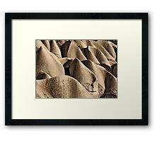 Cappadocian Landscape Framed Print