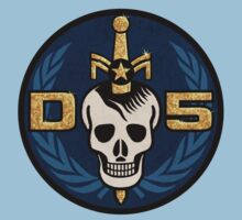 Danger 5 Emblem (Gigantic) Kids Clothes