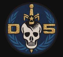 Danger 5 Emblem (Gigantic) One Piece - Short Sleeve