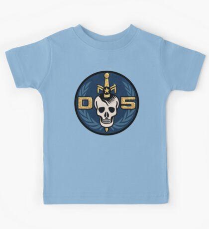 Danger 5 Emblem (Gigantic) Kids Tee
