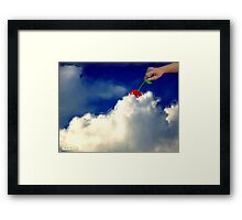 And A Cherry On Top Framed Print