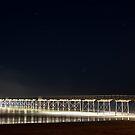 Saltburn Pier by Night by Darren Allen