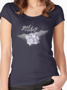 Got Cube? Women's Fitted Scoop T-Shirt