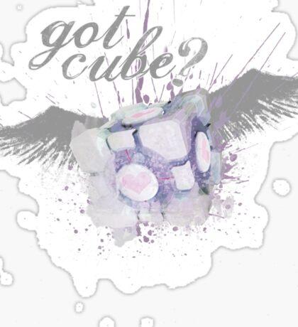 Got Cube? Sticker
