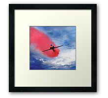 """Red Arrow II"" Framed Print"