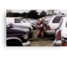 Paradox at the Pow Wow Canvas Print
