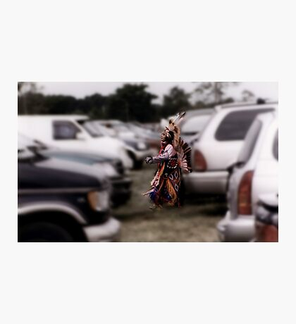 Paradox at the Pow Wow Photographic Print